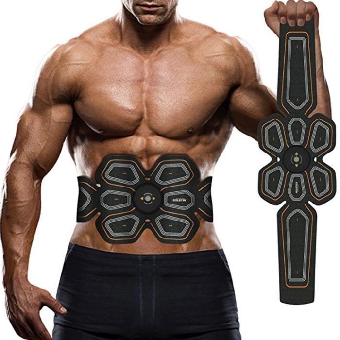 Vibration appareil de musculation abdominale EMS stimulateur musculaire Abdominal