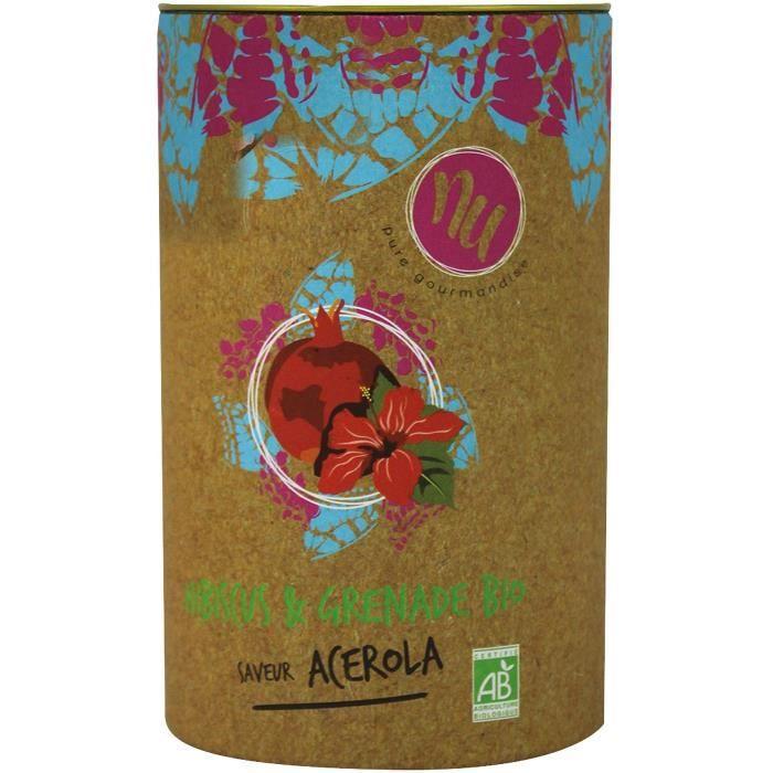 NU Infusion Hibiscus & Grenade Bio Saveur Acerola 90g