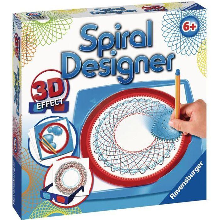 Spiral Designer Midi 3D
