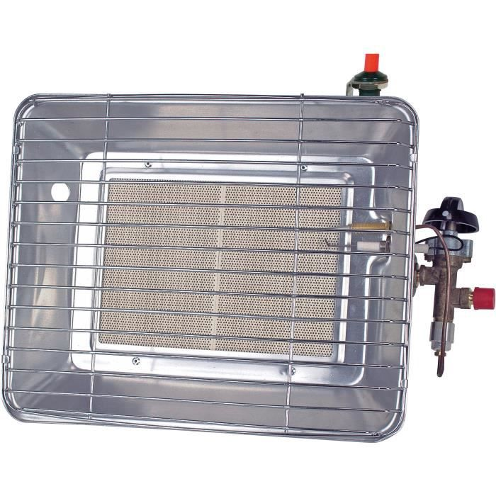 ROTHENBERGER Chauffage mobile infrarouge - Brasero Piezo - Gris
