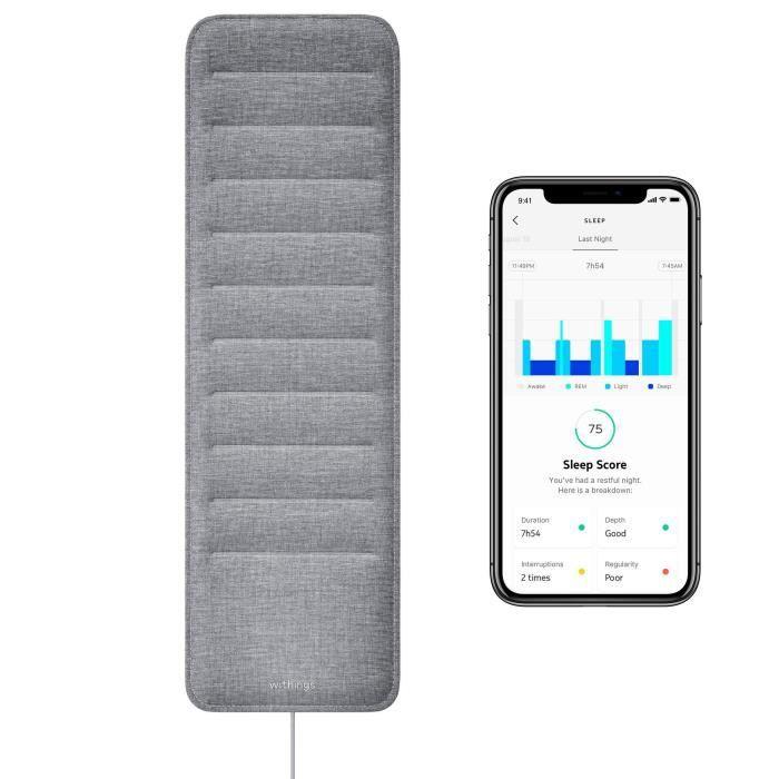 Withings Sleep - Capteur De Sommeil & Domotique - Analyser Des Phases De Sommeil