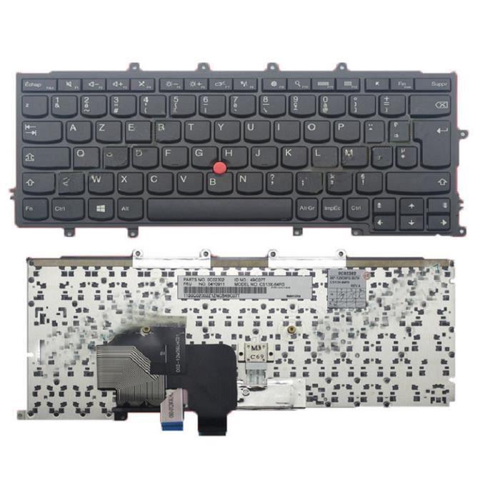 CLAVIER D'ORDINATEUR Clavier d'ordinateur portable pour lenovo Pour Thi