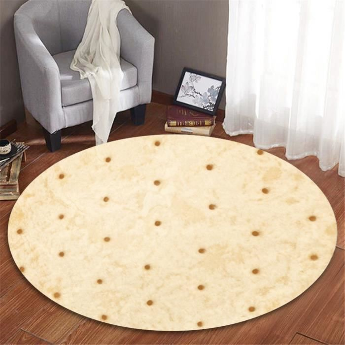 TAPIS mexicaine Burrito Confort Flanelle Salon enfants C