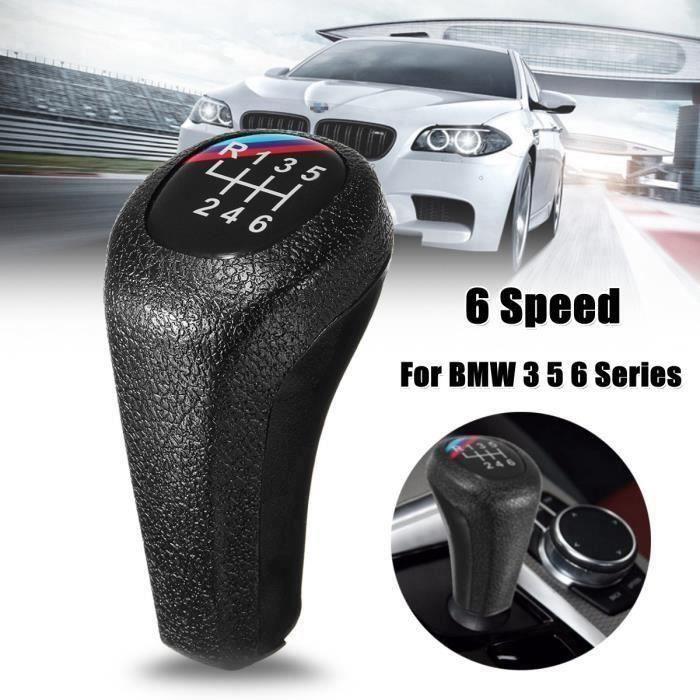 Color : 6 Speed-Y038 For BMW S/érie 1 3 5 6 S/érie Sport 5 pommeau de vitesses en cuir v/éritable 6 vitesses E30 E32 E34 E36 E38 E39 E46 E53 E60 E63 E83 E84 E87 E90 E91