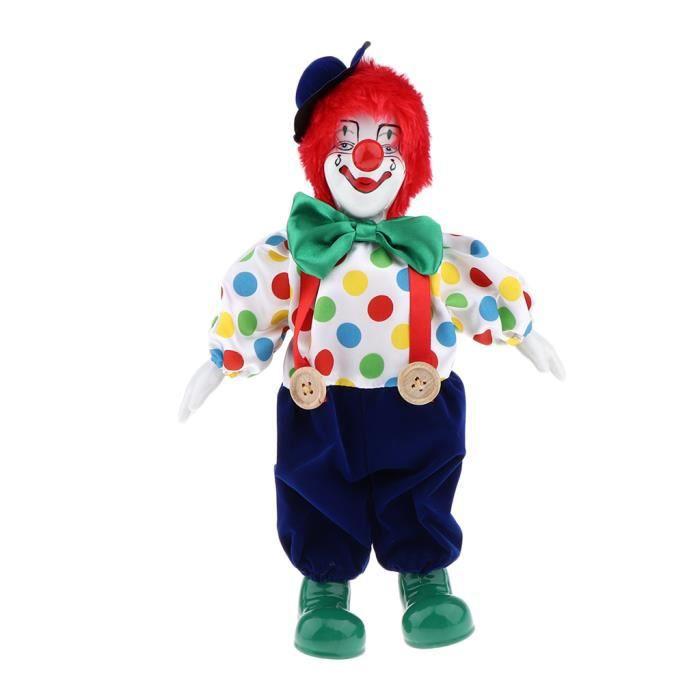 Nouveau 60 pièces Set Lot Jeu Enfants Carnaval CLOWNS TOYS Animal de Cirque Action Figures