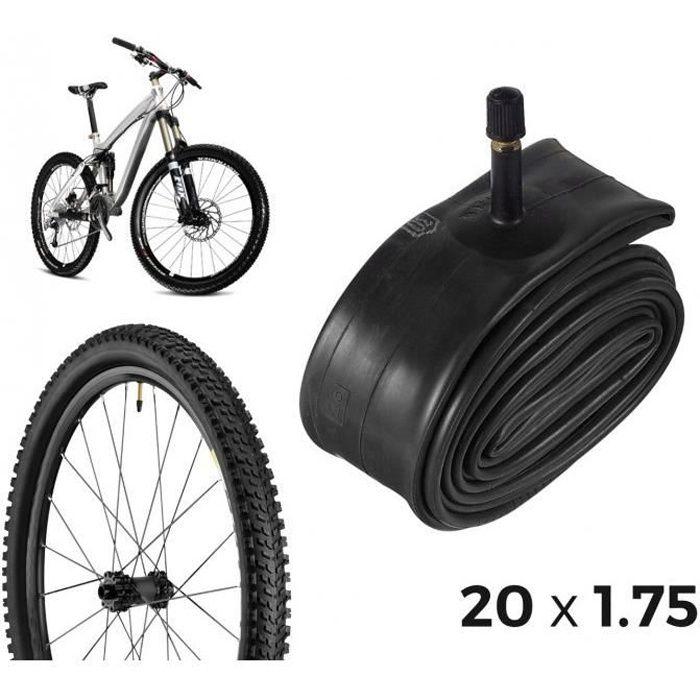 2 Pneus et Deux Chambres à Air Taille 20 X 1.75 Blanc//Noir en Vélo 20 Hollande
