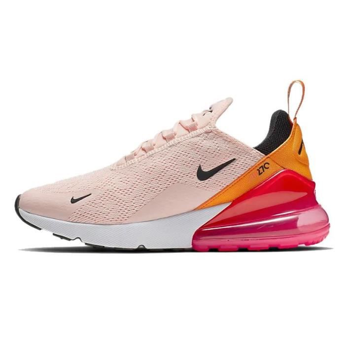 air max 270 rose et orange femme