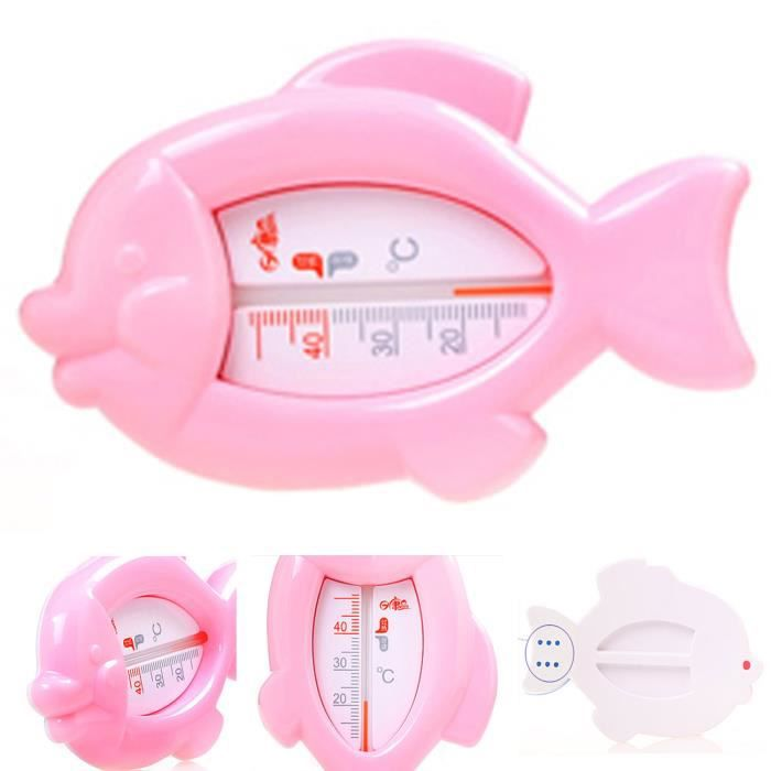 Kongkay de poisson b b thermom tres pour le bain for Thermometre chambre bebe