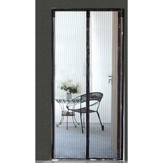Magnétique Insecte Volant porte rideau de fenêtre Magic Bug Maille Moustiquaire en Noir