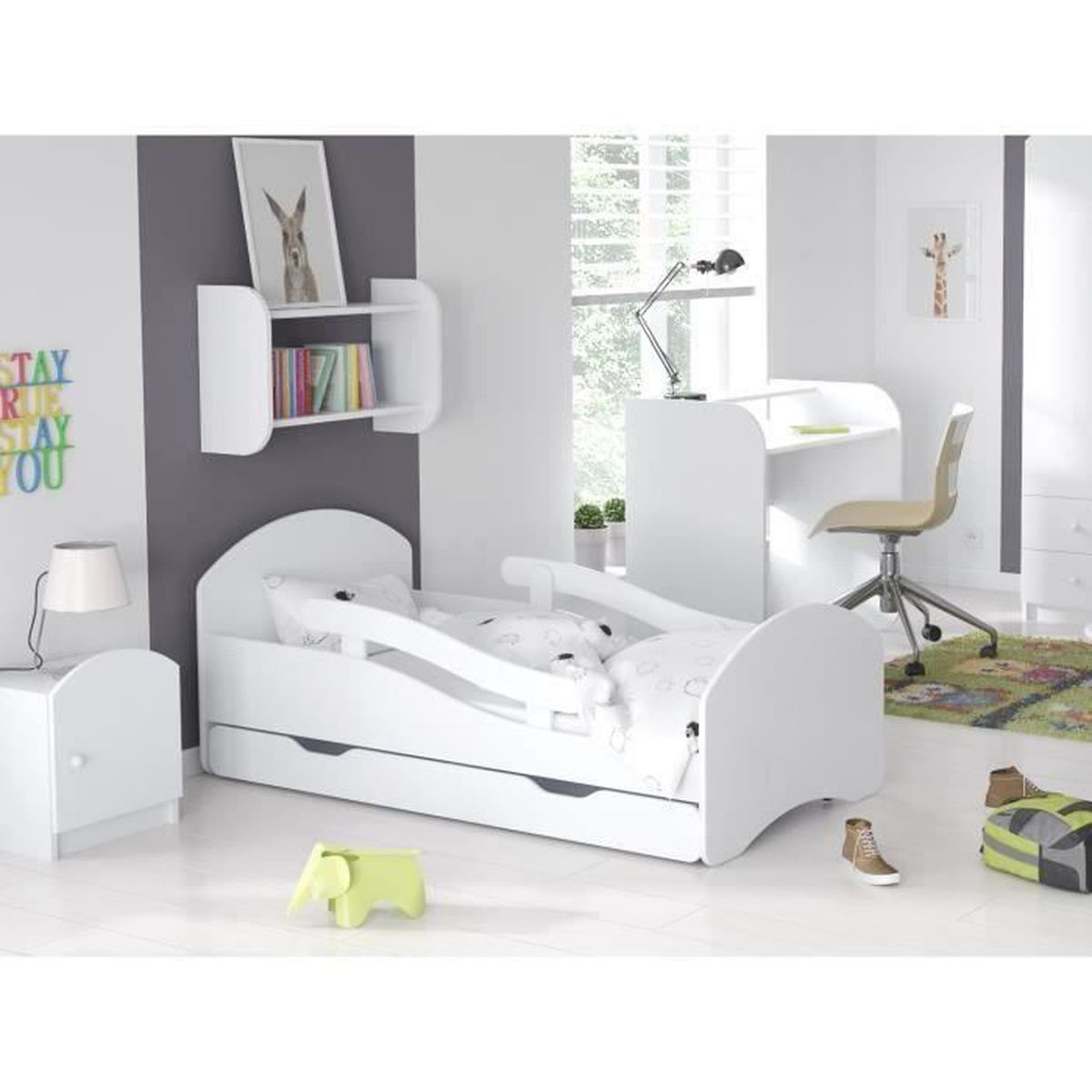 lit enfant papillon achat vente pas cher. Black Bedroom Furniture Sets. Home Design Ideas
