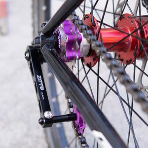 2x tendeur de chaine M6 vélo course 65mm ajusteur tension épaisseur cadre 5mm