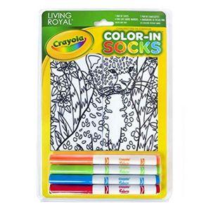 JEU DE COLORIAGE - DESSIN - POCHOIR Jeu De Coloriage OHLMU Crayola couleur en chausset