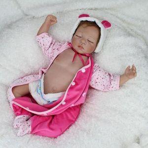 POUPÉE IMOSOIKO®2017 nouveau Silicone bébé Reborn Dolls c