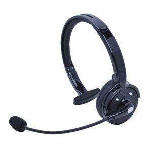 CASQUE - ÉCOUTEURS PURGO ® sans fil Bluetooth casque mono multipoint