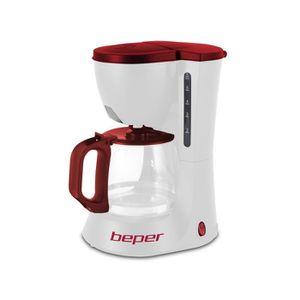 CAFETIÈRE BEPER 90.395H Cafetière filtre - Blanc et Rouge