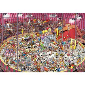 PUZZLE Puzzle 3000 pièces - Jan Van Haasteren : Le cirque