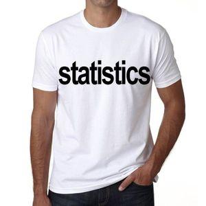 T-SHIRT statistics Tshirt Homme tshirt avec motif