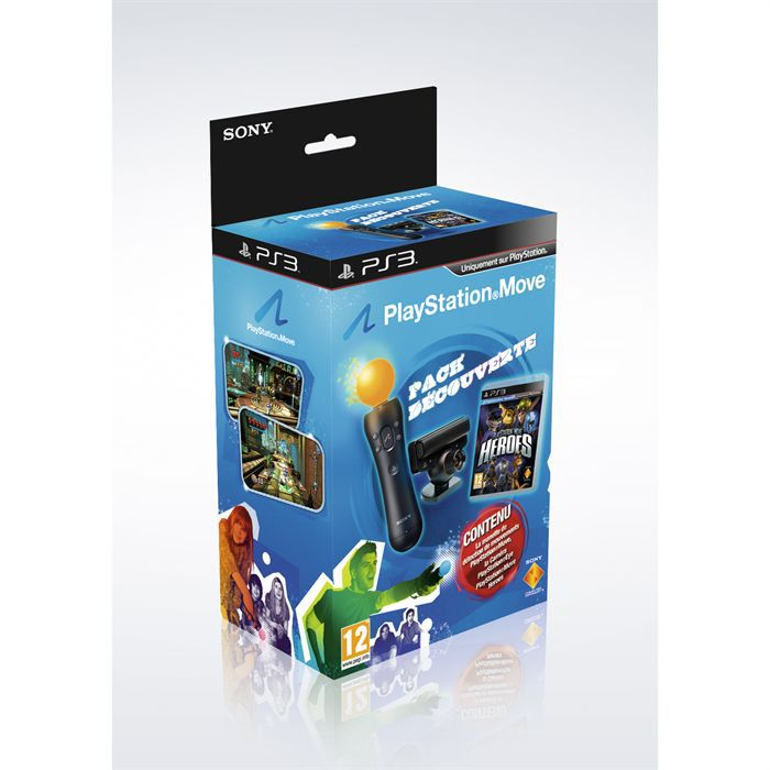 PACK ACCESSOIRE PACK PLAYSTATION MOVE HEROES / Accessoire PS3