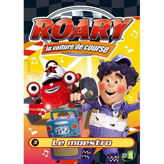 dvd roary la voiture de course vol 3 le mae en dvd dessin anim pas cher harper tim. Black Bedroom Furniture Sets. Home Design Ideas