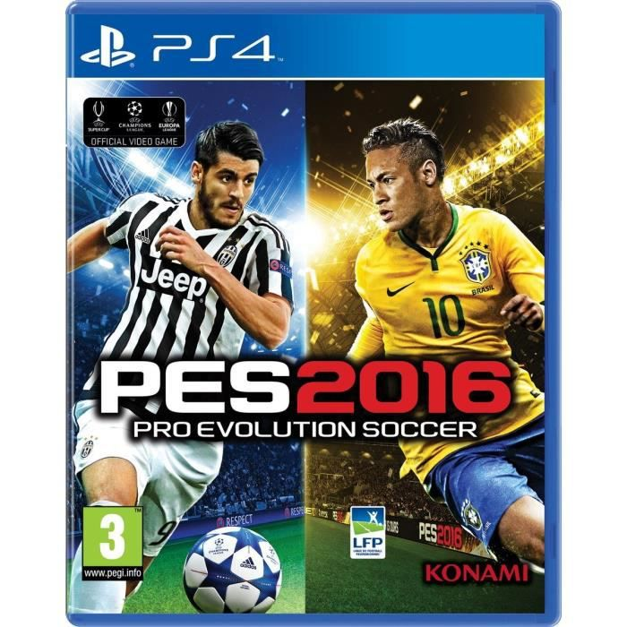 pes 2016 jeu ps4 achat vente jeu ps4 nouveaut pes 2016 jeu ps4 cdiscount. Black Bedroom Furniture Sets. Home Design Ideas