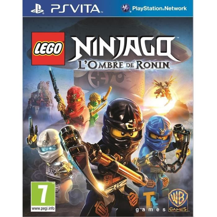 lego ninjago l 39 ombre de ronin jeu ps vita achat vente jeu ps vita lego l 39 ombre de ronin ps. Black Bedroom Furniture Sets. Home Design Ideas