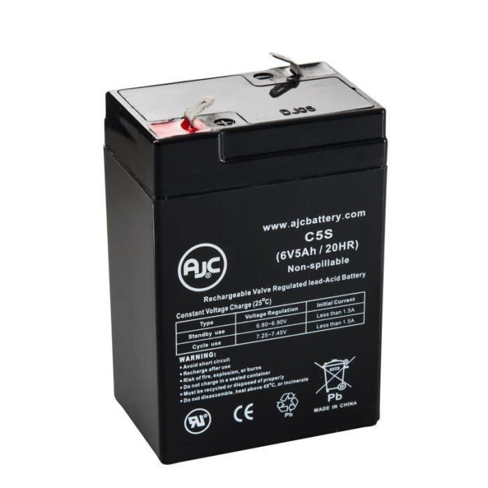Batterie Diamec DM6-4.2 6V 5Ah Acide scellé de plomb - AJC-C5S-A-1-155276