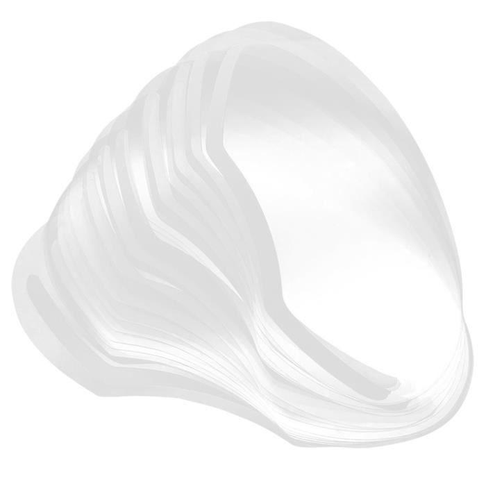 Visière de Protection, 100 PCS jetable coupe-cheveux chicane frange bouclier Salon Barber Dye Perm cheveux outils de coiffure