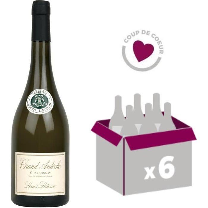 Grand Ardèche vin blanc 6x75cl Louis Latour