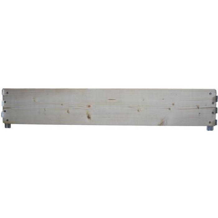 Planche réhausse palette longueur 120 cm