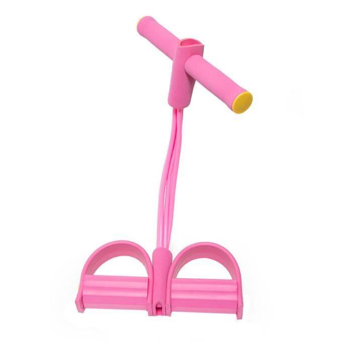 Fitness élastique s'asseoir tirer corde abdominaux exercices gymnastique à domicile équipement de Sport Yo JS5038