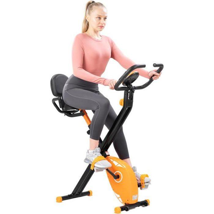 CITYSPORTS Vélo d'Appartements Pliable avancé, vélo d'exercice de fitness, vélo d'appartement d'intérieur, fitness à la maison