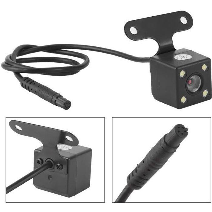 surveillance de recul Caméra de recul de vue arrière 5 broches haute définition grand angle 170 degrés IP68 étanche