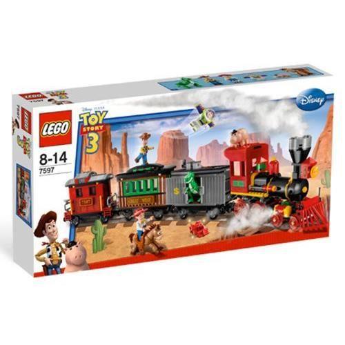Lego - 7597 - Jeux de construction - lego toy story - Course poursuite dans le train du Far West