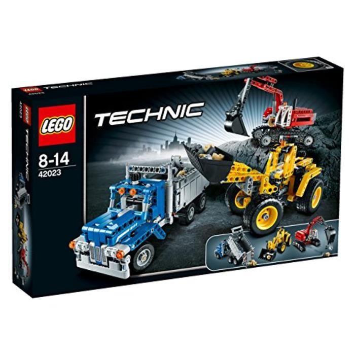 Jeu D'Assemblage LEGO AQ3LG Technic 4223 Equipe de construction