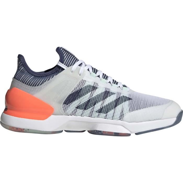 adidas Adizero Ubersonic 2 Hommes Chaussure tennis blanc