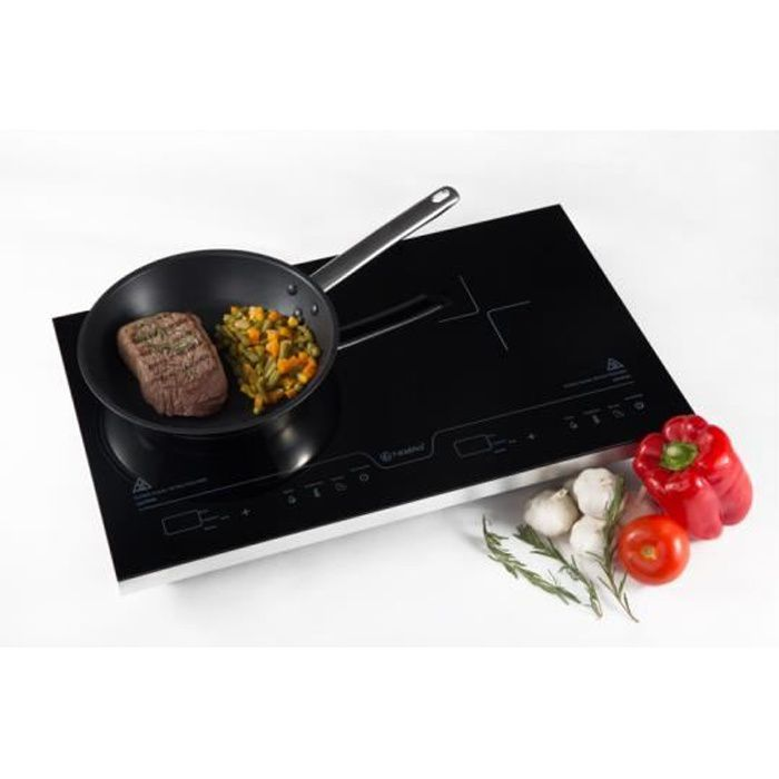 NAELIA CGF-06101-NAE Plaque de cuisson posable à induction - Noir