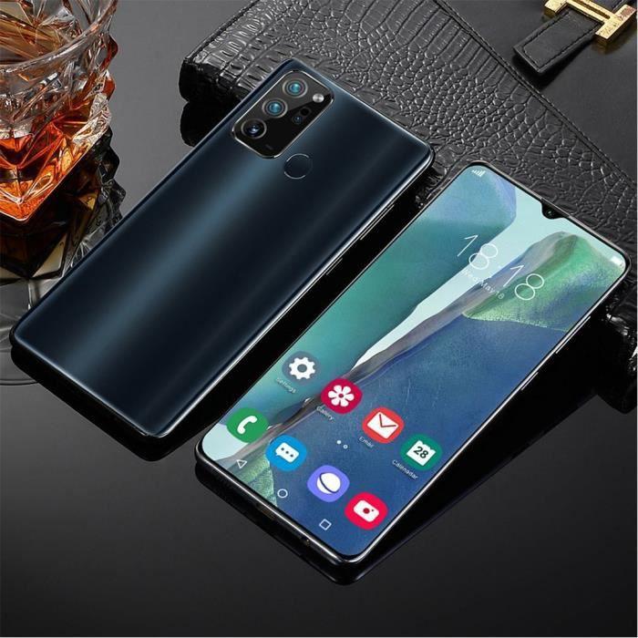 Android Smartphone Note20Ultra 6.5- écran 1+32G Double SIM Empreintes Digitales Face ID - noir
