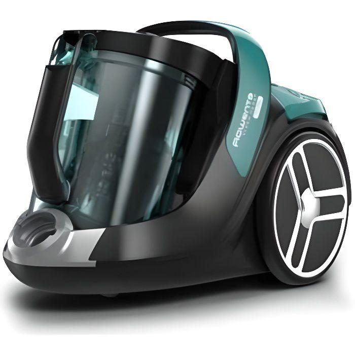 Aspirateur sans sac X-Trem Power Cyclonic - ROWENTA RO7262EA - Noir/Vert