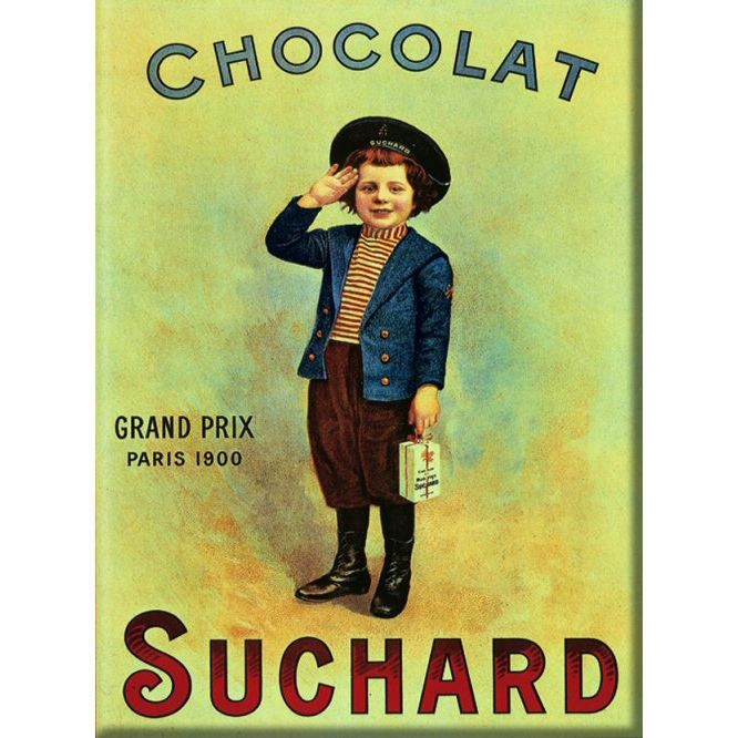 affiche 50x70cm pub chocolat suchard petit marin achat vente affiche les soldes sur. Black Bedroom Furniture Sets. Home Design Ideas