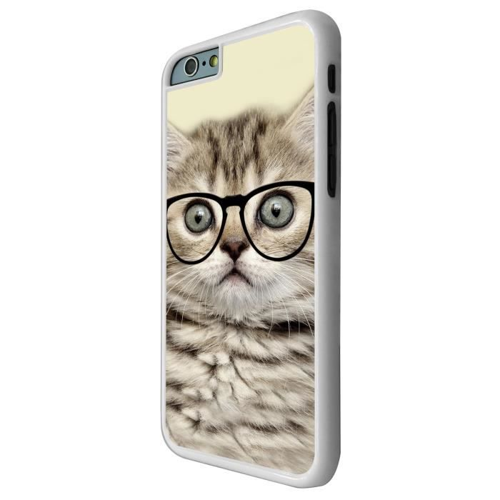 Cool geek kitten cat reading sunglasses funny iphone 6 4 7 - Espionner portable sans y avoir acces ...