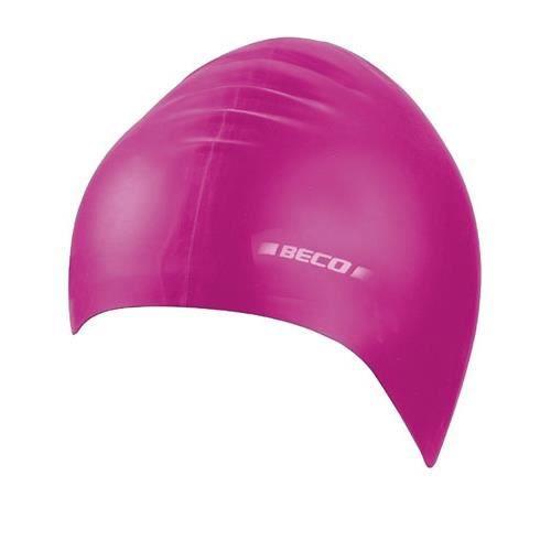 BONNET PISCINE- CAGOULE Beco bonnet de bain latex femme rose taille unique