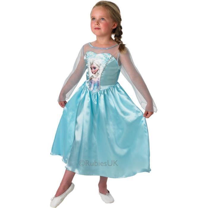 Déguisement robe Elsa la reine des neiges