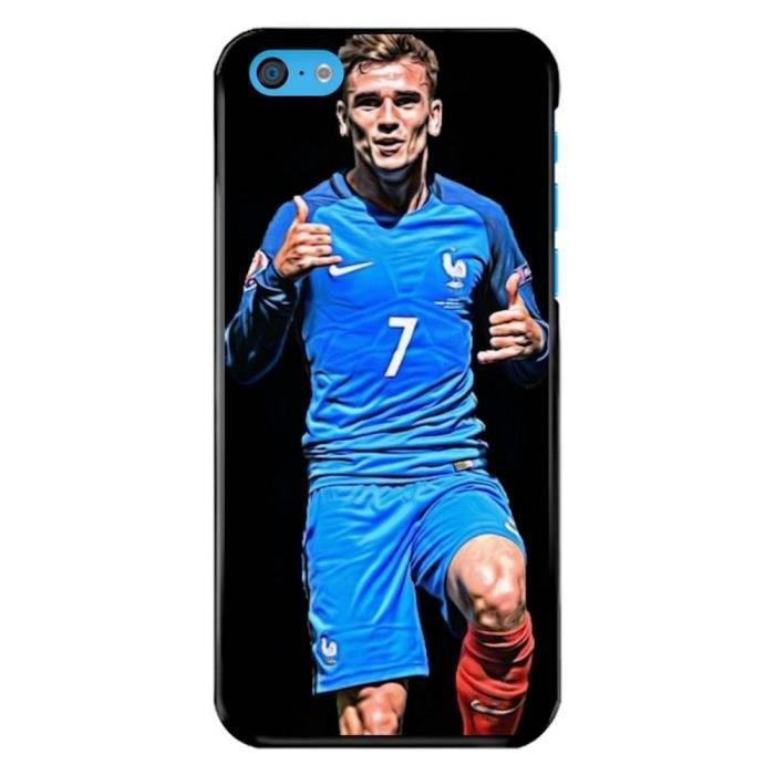 Coque iPhone 5C - Coupe du Monde de football - Griezmann - Achat ...