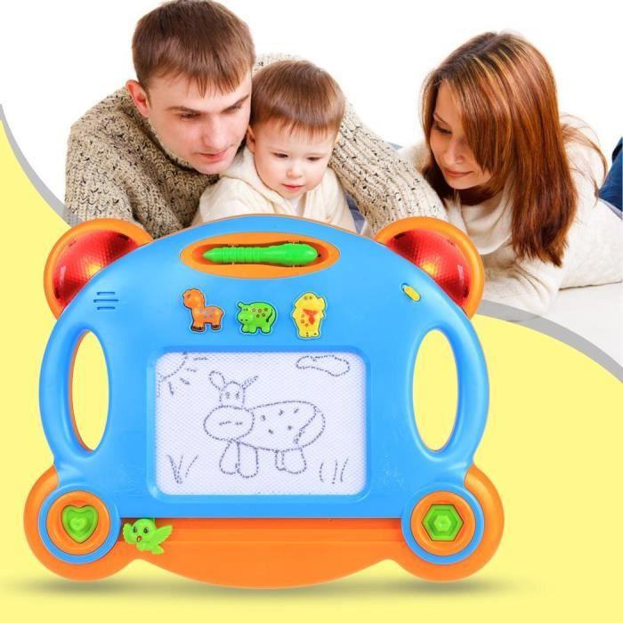 TABLE A DESSIN Planche à dessin magnétique avec lumière enfants