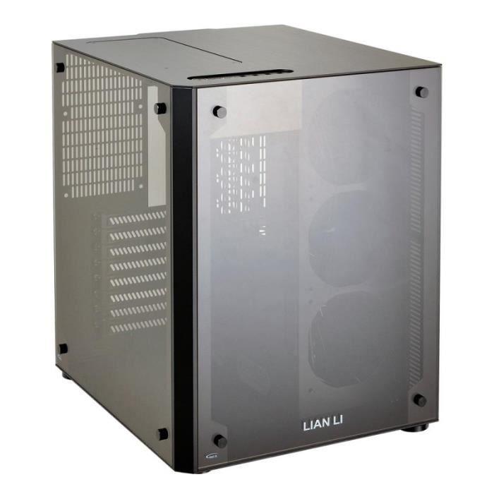 BOITIER PC  Lian Li PC-O8SWX ATX-Gehause - schwarz Window 0,00