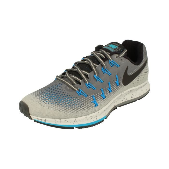 best sneakers 7f340 d86ad Nike Air Zoom Pegasus 33 Shield Hommes Running Trainers 849564 Sneakers  Chaussures 2