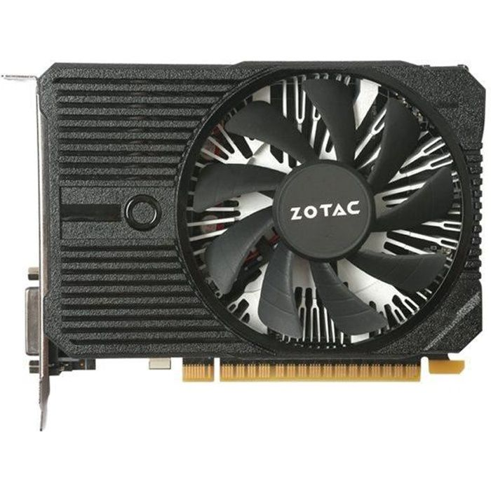 CARTE GRAPHIQUE INTERNE ZOTAC Carte graphique - NVIDIA - GeForce® GTX 1050