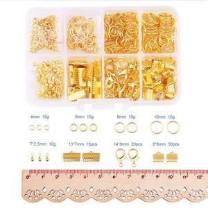 200Pcs Creux Argent Plaqué Or Métal Fleur Perle Cap Jewelry Findings 10X4mm