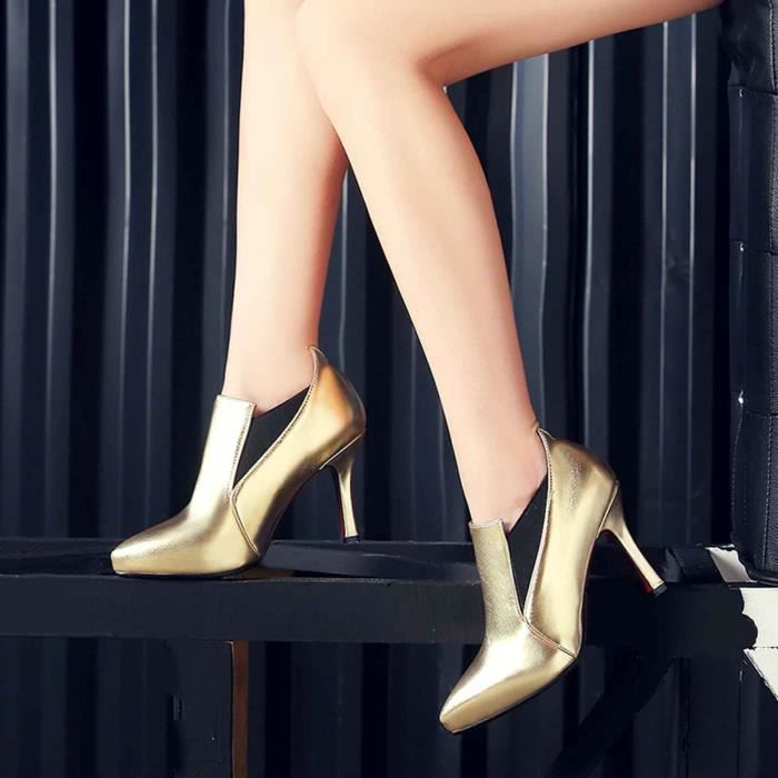Chaussure Femme Sexy Solide Fraîche Dazzling Pointe Vie Confortable 84wnW2dGPZ