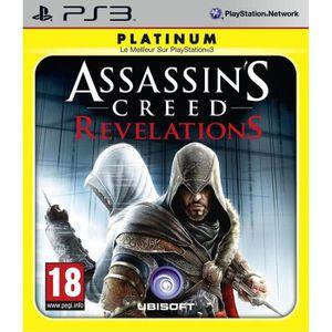 JEU PS3 ASSASSIN'S CREED REVELATIONS PLATINUM / PS3